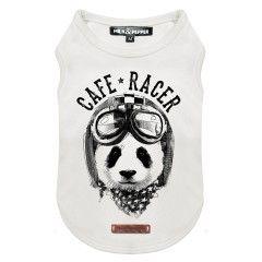 T-Shirt Panda Racer pour chiens - Milk&Pepper