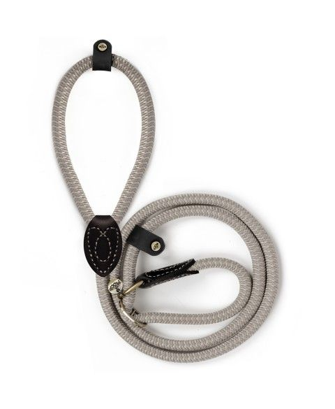 Lasso Django Taupe leash for dogs - Milk&Pepper