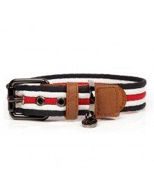 Heritage Dog Collar - Milk&Pepper