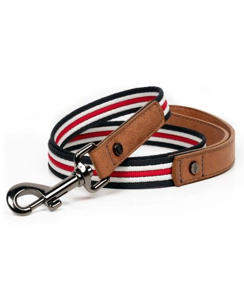 Heritage Dog Leash - Milk&Pepper