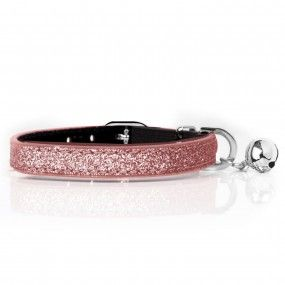 Collier Stardust Rose pour chats - Milk&Pepper