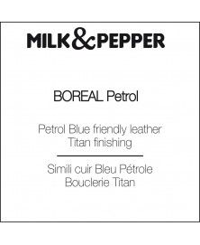 Boreal Petrole collar for dogs - Milk&Pepper