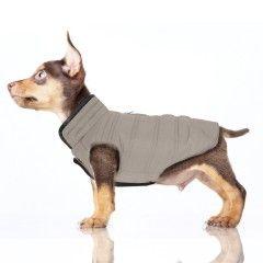 Manteau Réversible Gotham pour chien - Milk&Pepper