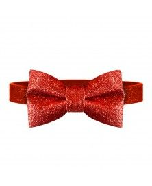 Red Butterfly Bow Tie for Dog Milk&Pepper