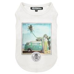 Kalapana dog T-Shirt Milk&Pepper