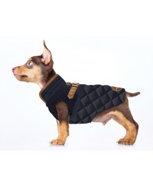 Admiral dog coat - Milk&Pepper