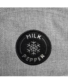Harlington dog coat - Milk&Pepper