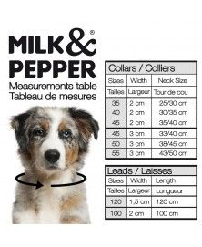 Size guide - Milk&Pepper
