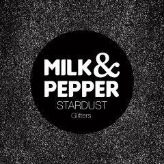Collier Stardust Noir pour chat – Milk&Pepper