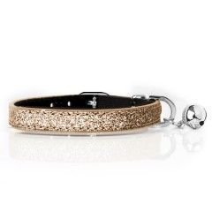 Cat Collar Stardust Gold - Milk&Pepper
