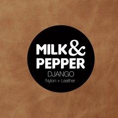 Laisse Lasso Django Noir pour chiens – Milk&Pepper